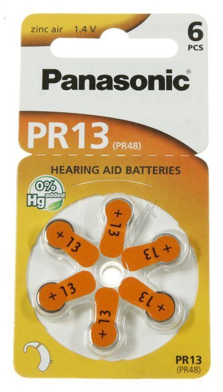 6 piles ZA13 - PR48 - appareil auditif