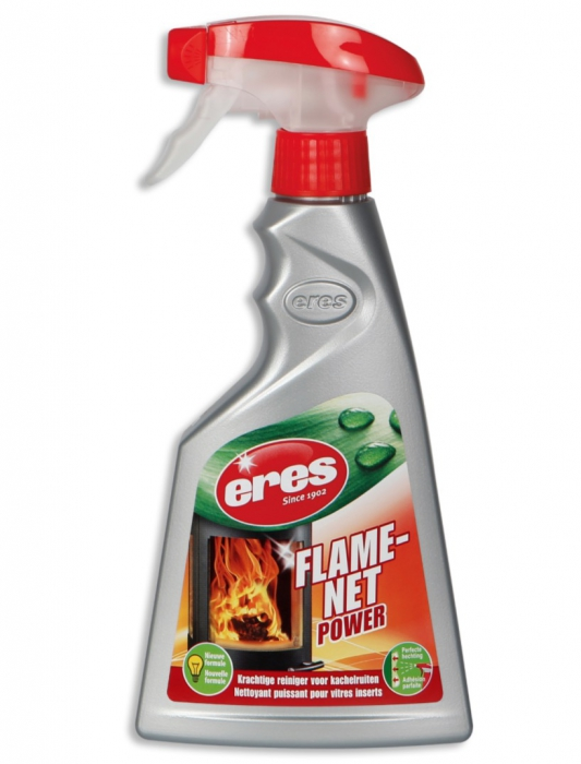 Spray nettoyant dégraissant vitre insert cheminée