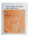 Filtre aspirateur microfibre a decouper 31cm X 12.5cm