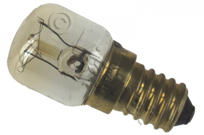 Ampoule E14 - 15W - L46mm X 20mm - Réfrigérateur