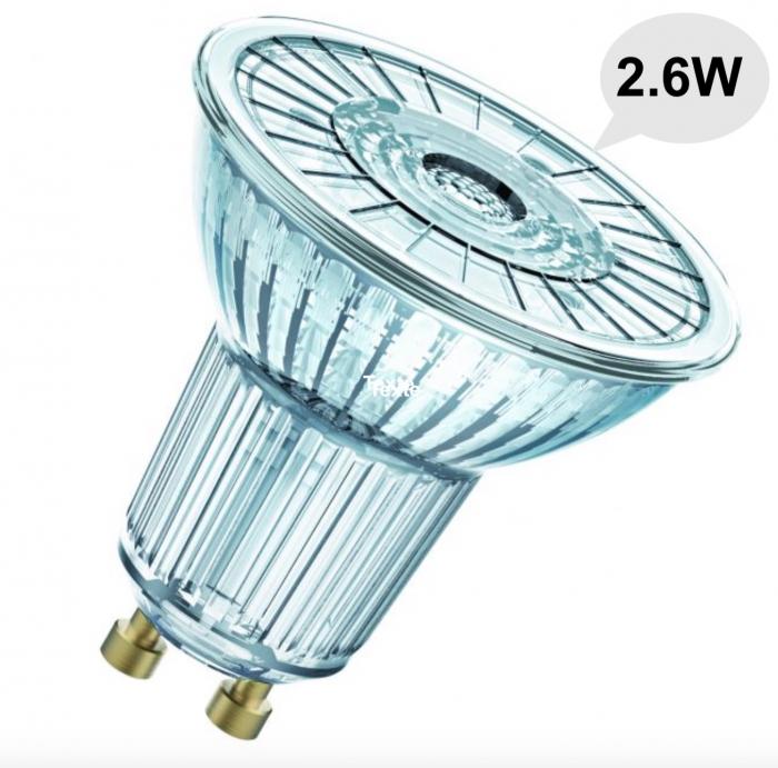 Ampoule LED GU10 - 2.6W - Blanc