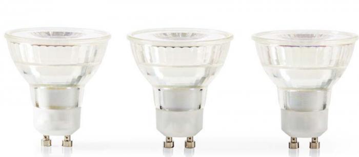 3 ampoules LED GU10 - 4.6W - 2700K