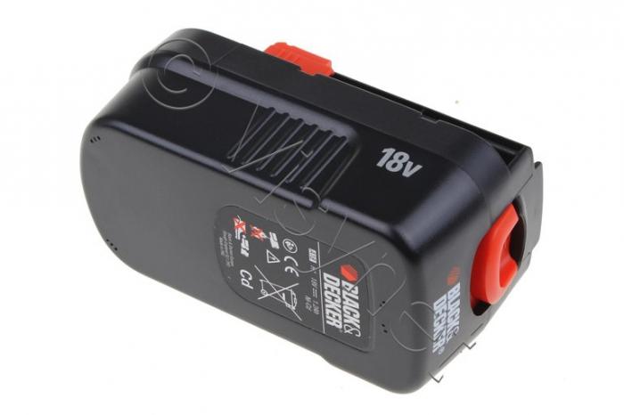 Batterie 18V d'origine BLACK DECKER GXC 1000 - BINEUSE HP 18 PAL - COUPE HERBE