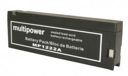Batterie 12V-2AH HELLIGE / MARQUETTE / GE SMP320