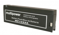 Batterie 12V-2AH HP / PHILIPS : TRANSPORT MONITOR 40488A /