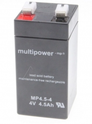 Batterie MULTIPOWER MP4,5-4 - 4V - 4500mah