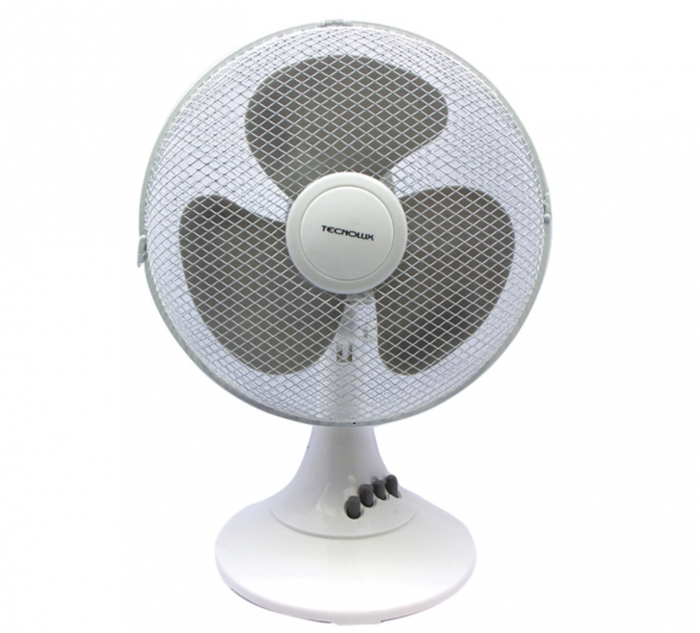Ventilateur de table 40cm - 45W - Blanc