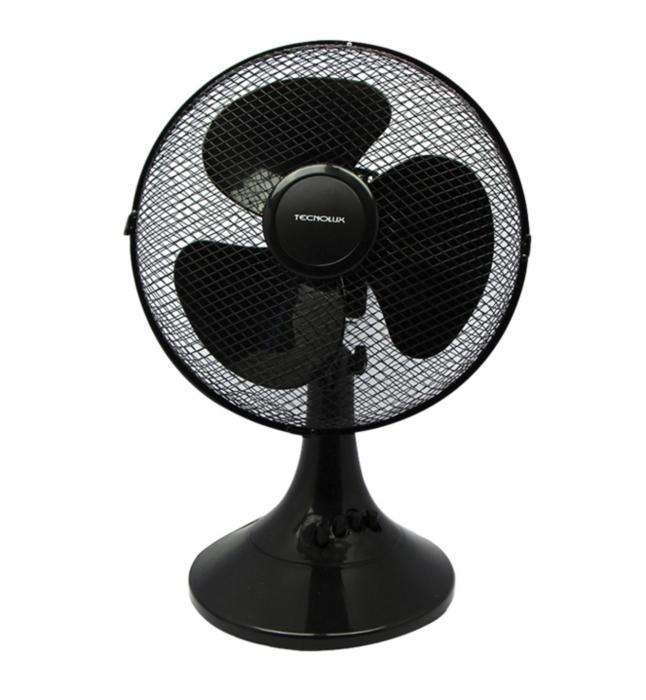 Ventilateur de table 30cm - 45W - Blanc