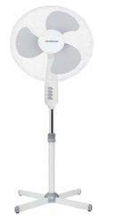 Ventilateur 40cm sur pied 1m20 - Blanc