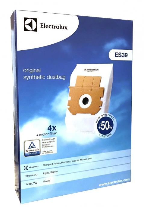 4 sacs originaux aspirateur VOLTA U 2215 - U 2235 - U 2245 - U 2265