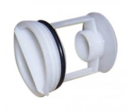 Bouchon filtre peluche pompe lave-linge BEKO WMB 91442 LA
