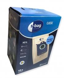 15 sacs originaux S-BAG aspirateur ELECTROLUX S-BAG
