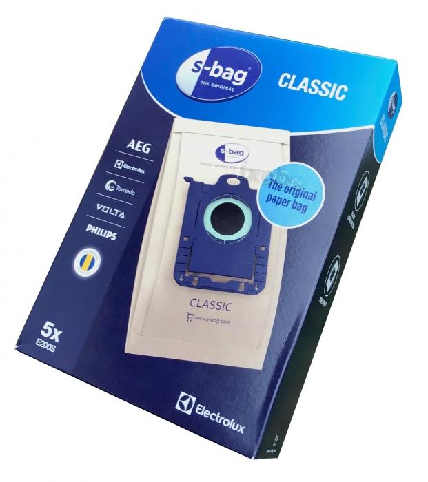 5 sacs s-bag classic aspirateur ELECTROLUX ZUS3932G