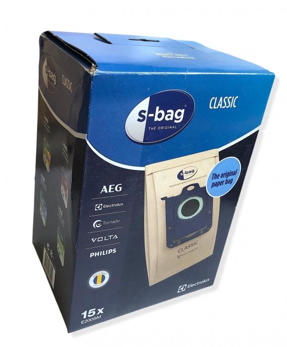 15 sacs originaux S-BAG aspirateur ELECTROLUX ZUS3932G