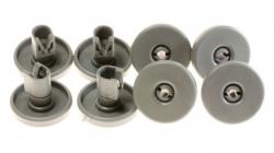 8 roulettes panier inférieur lave-vaisselle ELECTROLUX 50286965004