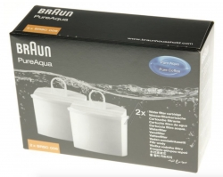 2 filtres eau cafetiere BRAUN AROMADELUXE TIME CONTROL