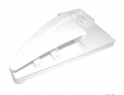 Equerre fixation droite pour vitre 7433698 refrigerateur Liebherr