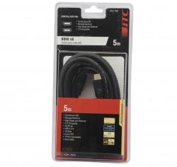 Cable HDMI 4K - 5 mètres