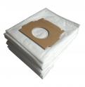 x10 sacs aspirateur textile MOULINEX POWERCLEAN 1250