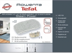 2 lingettes + anticalcaire ROWENTA RY6555WH4Q0 - STEAM POWER nettoyeur vapeur