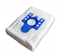 x10 sacs textile aspirateur HANSEATIC 418.591 - Microfibre