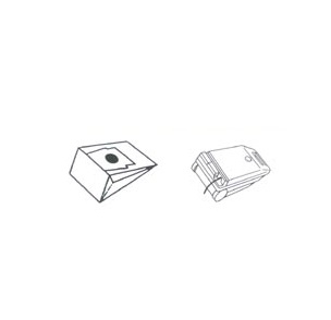 x10 sacs aspirateur SOLAC 911
