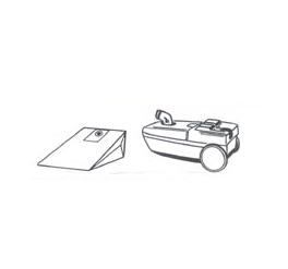 x10 sacs aspirateur ALASKA BS 1300