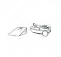 x10 sacs aspirateur CURTISS SE.SA  8510/8520