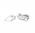 x10 sacs aspirateur HANSEATIC 508.575