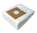 x10 sacs textile aspirateur SAMSUNG FC / VC / RC / NC / TC / NV 6000...6099 - Microfibre