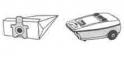 x5 sacs aspirateur PANASONIC MC 572