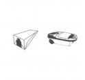 5 sacs microfibre aspirateur PARIS - RHONE A 280 PRESTIGE