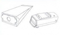 x10 sacs aspirateur PROGRESS P 3