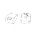 5 sacs aspirateur MOULINEX POWERJET - Microfibre