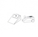 x10 sacs aspirateur CURTISS CL 50