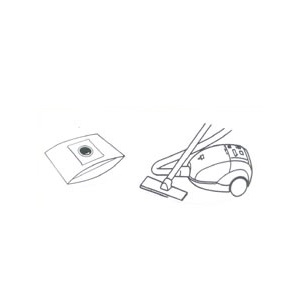x10 sacs aspirateur SANYO COMPACT 1200W