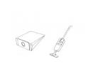 x10 sacs aspirateur PHILIPS HR 6170 - HR 6171 -HR 6172
