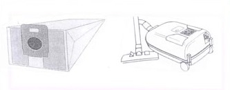 x10 sacs aspirateur CLATRONIC/CTC BS 1250 - BS 1200IE