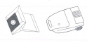 x10 sacs aspirateur SELECLINE - SOLFACIL DH 180