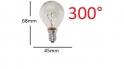 Ampoule de four E27 40watt - 45X68 300°