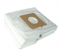 x10 sacs textile aspirateur CLATRONIC/CTC BS 1231 - Microfibre