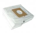 x10 sacs textile aspirateur LG - GOLDSTAR V3900...3999 CT/HD/HT/T/TV - Microfibre