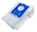x10 sacs textile aspirateur PHILIPS FC 9050...FC 9079 - Microfibre