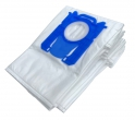 x10 sacs textile aspirateur PHILIPS FC 9150...FC 9179 - Microfibre
